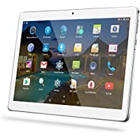 YUNTAB(JP) 10.1 インチ タブレットPC K107 tablet pc Android 5.1 デュアルSIMスロット3G通信pad デュアルカメラ Quad-Core 1.30GHz IPS液晶タッチスクリーン WI-FI、bluetooth 4.0、GPS対応 (銀色)