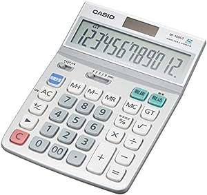 カシオ スタンダード電卓 時間・税計算 デスクタイプ 12桁 DF-120GT-N