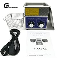 3L Professional Stainless Steel Ultrasonic Cleaner Eyeglasses Jewelry Cleaner Cleaning machine Mechanical heating Timing adjustable 110V/220V