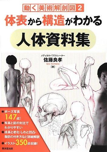 体表から構造がわかる人体資料集