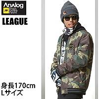 ANALOG(アナログ) アナログ 16-17 スノーボードウェア ジャケット LEAGUE -JK SURPLUS CAMO 撥水?防水シャツ ATF ANALOG ウエア スノーボードウェア?スノボー