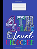 4th Grade Level Unlocked: Academic Planner 2019-2020 Student Calendar Organizer with To-Do and goals List,Daily Notes, Class Schedule and Tasks ,Diary and Homework for Elementary, Middle and High School