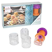 Let's Get Baking Party Food Recipe Book & Cutters Mini Gift Set