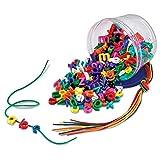 ラーニング リソーシズ(Learning Resources)  おもちゃ 紐通し アルファベット小文字 260ピース入り LER6402