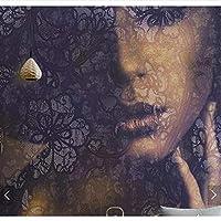 Weaeo 3Dフィギュア美しい女の子の顔の壁紙壁紙の壁装飾カスタム壁紙ロール-250X175Cm