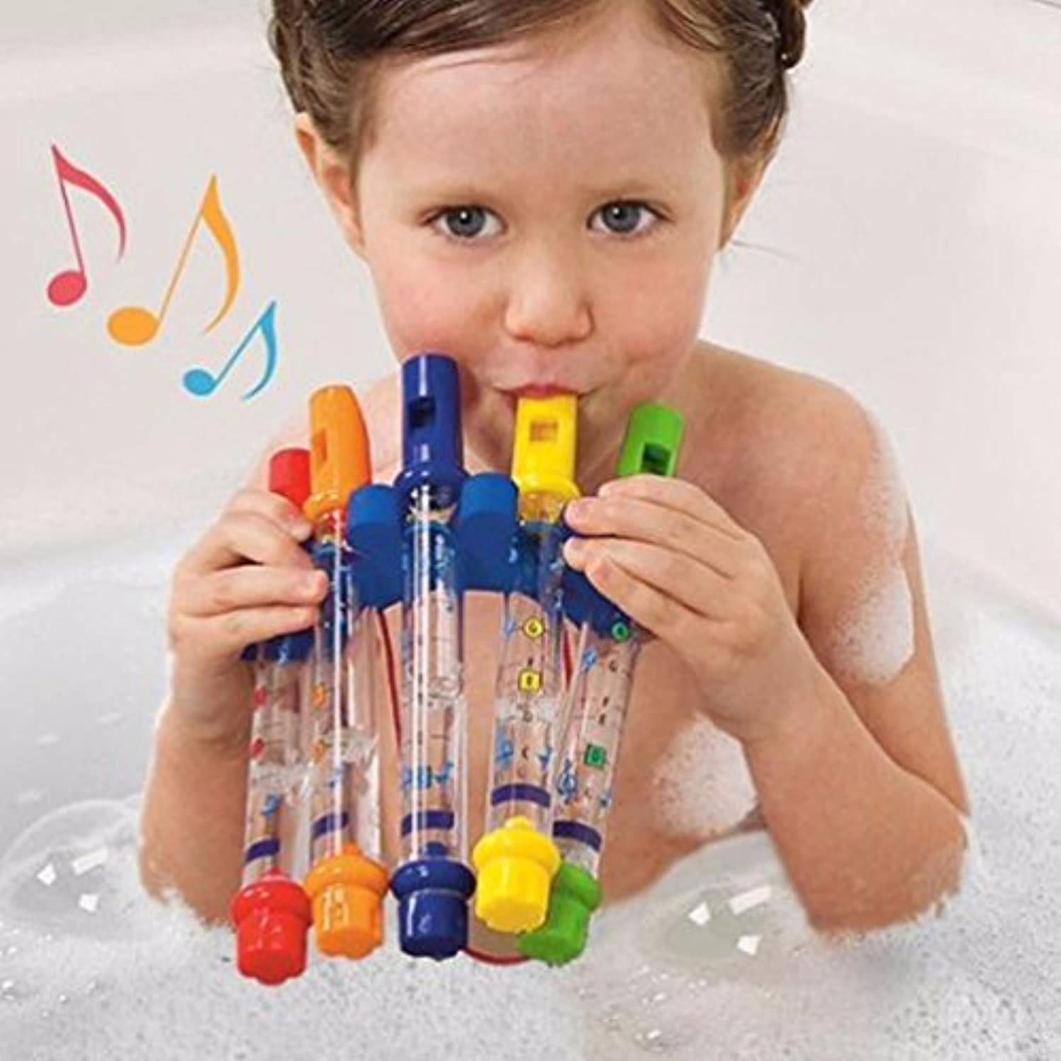Educational Toys - Coerni Kids Water Flute Whistles Music Toy