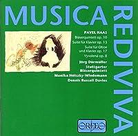Blaserquintett & Suite Fur Klavier & Vyvolena by PAVEL HAAS (1996-02-08)