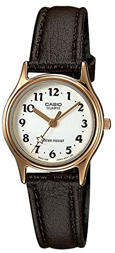 [カシオ]CASIO 腕時計 スタンダード LQ-398GL-7B3 レディース