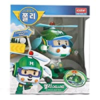 Robocar Poli Deluxe Transformer Toys Academy Robot Action Figures Korean Animation Kids Gift [Helli] by Academy Models