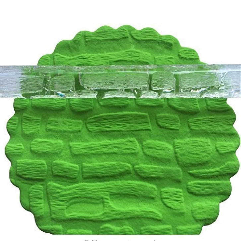 耐えられないほこりっぽいギネスVAlink Rock Formation形状3d透明フォンダンエンボスローリングピン、エンボス加工テクスチャローラー、ビスケットケーキデコレーションツール