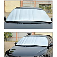 Cozyrom 車用遮光サンシェード 小型車 中型車 遮光カバー 紫外線カット 日よけ カー用品