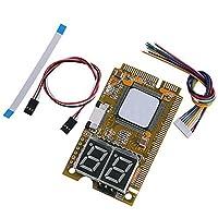 feamos 5in1ミニPCI PCI - E LPC i2C ELPCデバッグカード診断アナライザテスター最新のBIOSバージョンをサポート