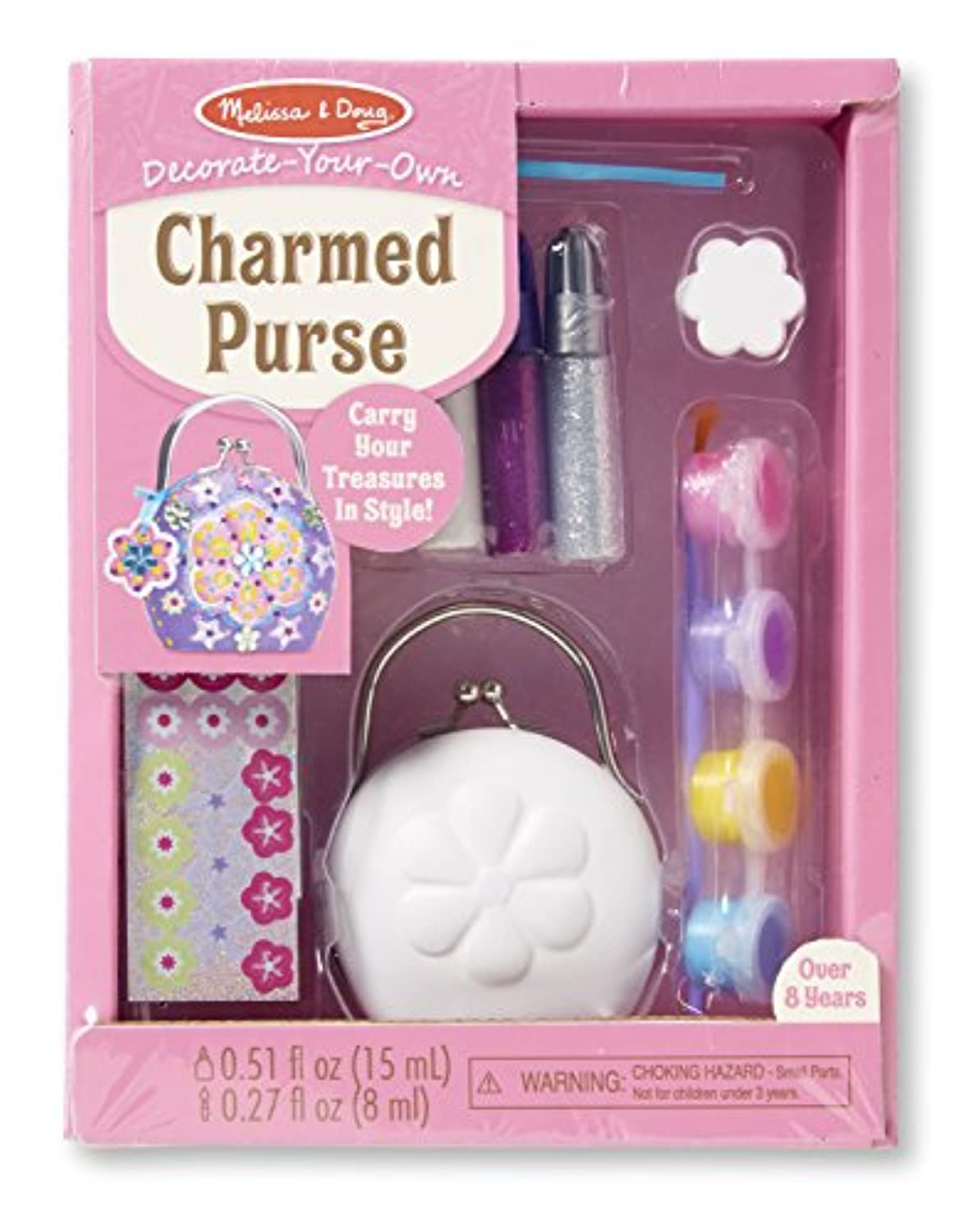 Melissa & Doug decorate-your-own Charmed Purseクラフトキット