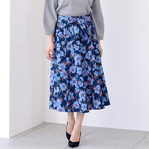 ミューズ リファインド クローズ(MEW'S REFINED CLOTHES) 大花柄ミモレスカート