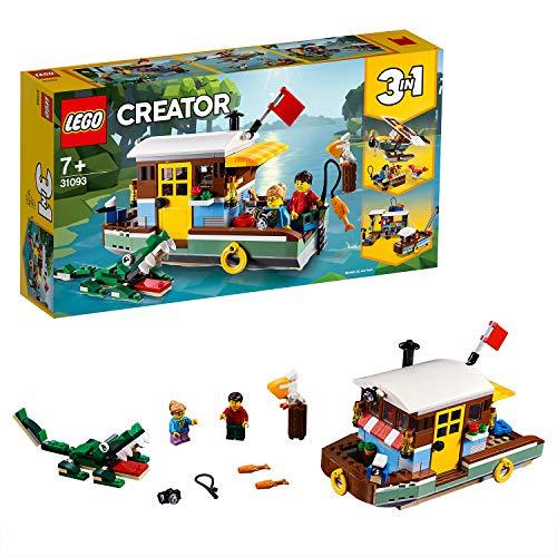 レゴ(LEGO) クリエイター リバーサイド・ハウスボート 31093