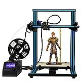 「新機種」HICTOP 3Dプリンター Reprap Prusa i3 DIYキット未組立 最大印刷サイズ 300*300*400mm アルミニウム 0.2KGフィラメント付属 3dp-20