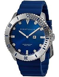 [ペリー・エリス]Perry Ellis 腕時計 DEEP DIVER(ディープ・ダイバー) クォーツ 46 mmケース シリコンバンド 02002-03 メンズ 【正規輸入品】