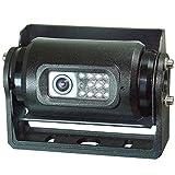 MAXWIN(マックスウィン) バックカメラ CCD レンズ 回転式 角度調整 正像 鏡像 切替 防水 赤外線 暗視 センサー 集音 マイク 曇り防止 ヒーター 12V 24V 業務用 プロ仕様 SV-CAM001