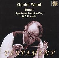 Symphonies 35 40 & 41 by W. A. MOZART (2003-05-30)
