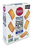 亀田製菓 Mary's gone Crackers リアルクラッカー グルテンフリー 27品目アレルゲンフリー シーソルト味 100g×6箱