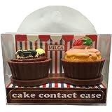 MILCA ミルカ ケーキコンタクトケース チョコ