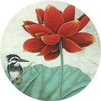 YETUGE-X 絨毯カーペット 長方形 円形も有り おしゃれ 洗える 花柄 ラグカーペット ラグマット 短足 夏用 リビングラグ シンプル
