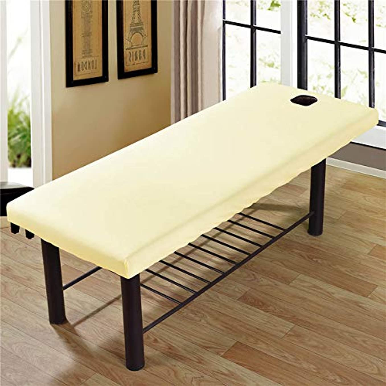 宿結び目軌道JanusSaja 美容院のマッサージ療法のベッドのための柔らかいSoliod色の長方形のマットレス
