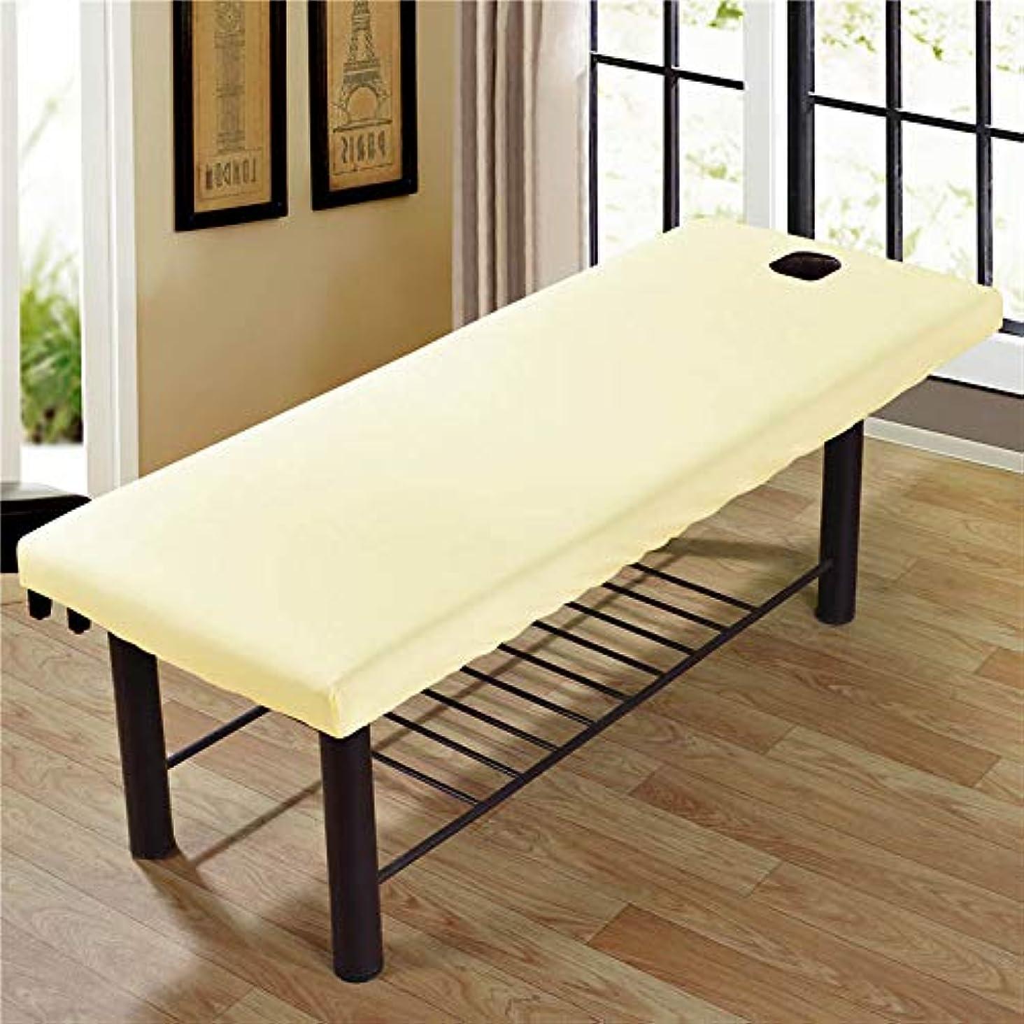 JanusSaja 美容院のマッサージ療法のベッドのための柔らかいSoliod色の長方形のマットレス