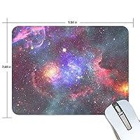 マウスパッド 宇宙銀河星雲空間 疲労低減 ゲーミングマウスパッド 9 X 25 厚い 耐久性が良い 滑り止めゴム底 滑りやすい表面
