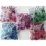 Speedy Bingoマーカー磁気チップ、レッド、パープル、ピンク、ブルー、各色、グリーン100チップのパックの5