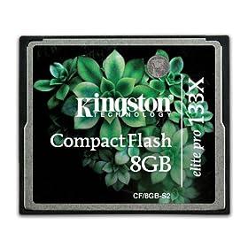 Kingston 8GB CF Elite Pro - 133倍速 CF/8GB-S2