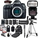 Canon EOS 5D Mark IV Digital SLR Camera Bundle (Body Only) + Professional Accessory Bundle (14 items) [並行輸入品]