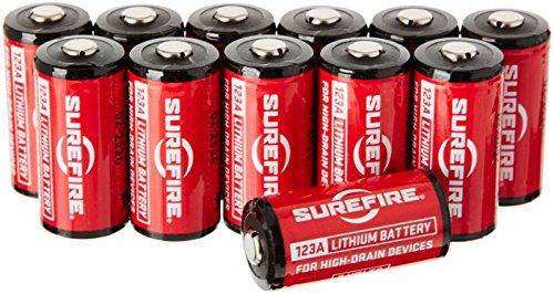 シュアファイア 3Vリチウムバッテリー 123A 1箱(12個入り) SF12BB