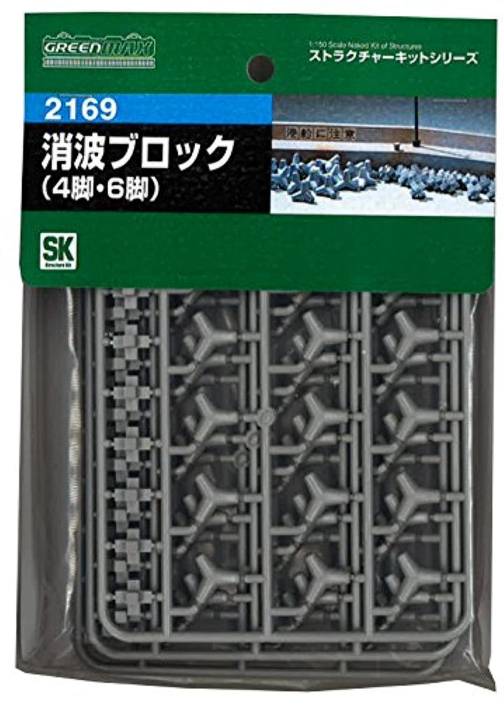 Nゲージ 2169 消波ブロック (未塗装キット)