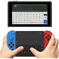 Switch用ワイヤレスキーボード ミニキーボード Joy-Con ドッキング可能 2.4G無線伝送 USBレシーバー付き 200mAhバッテリー Type-C 電子版日本語取扱説明書