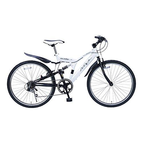 My Pallas(マイパラス) 自転車 クロスバイク 26インチ 6段変速 リアサス ホワイト M-650 type3 M-650 type3 ホワイト 26インチ