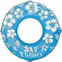 ドウシシャ 浮き輪 SayAloha ブルー 100cm