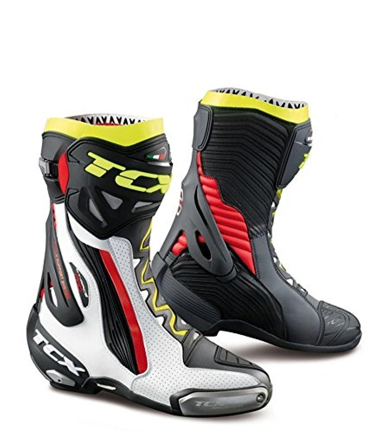 強度典型的な事実上TCX ブーツ メンズ RT-Race Pro Air Size 40/Size 7 7651-BIRY-40
