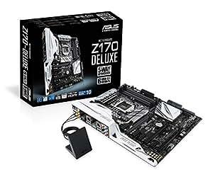 ASUSTeK Intel Z170搭載 マザーボード LGA1151対応 Z170-DELUXE 【ATX】