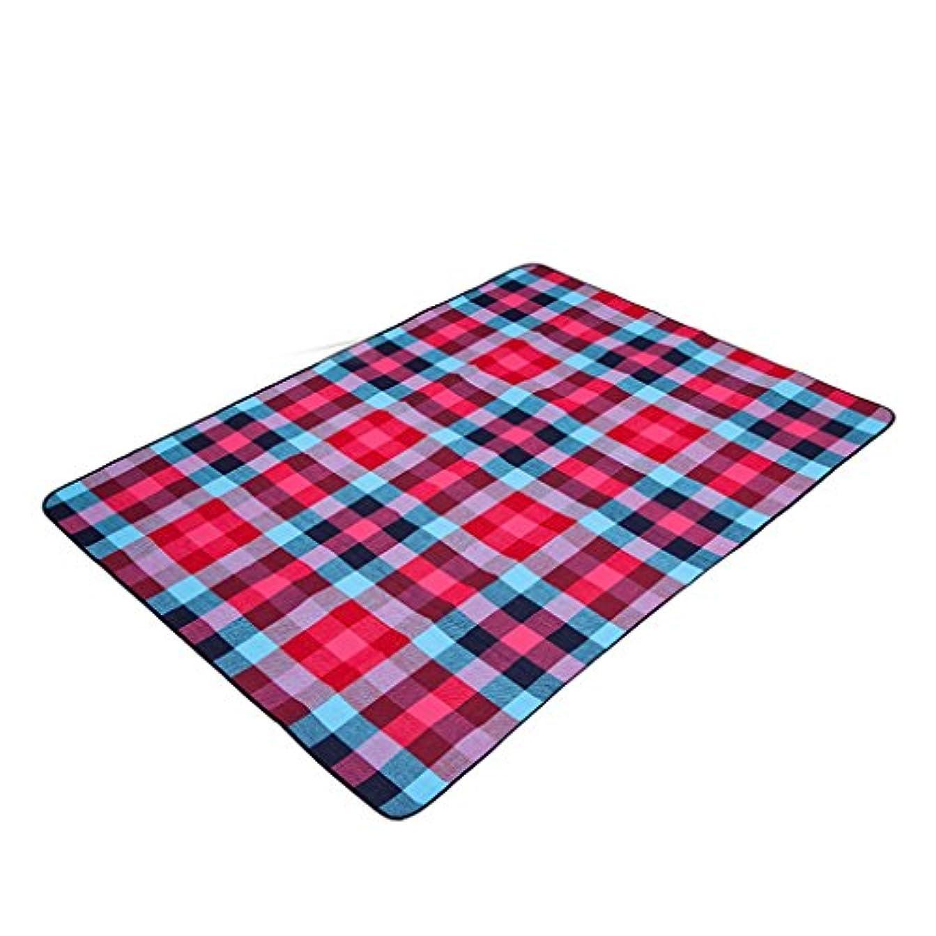 信頼システムカニ厚い防湿性ピクニックブランケットポータブルソフトマットビーチピクニック布 (Size : 200 * 200cm)