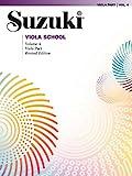 Suzuki Viola School, Vol 4: Viola Part