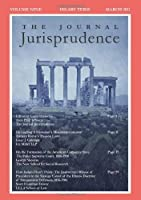 The Journal Jurisprudence Vol. 9: Legal Histories [並行輸入品]