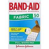 Band-Aid Adhesive Bandages Fabric 50