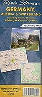 Rick Steves Germany, Austria & Switzerland Planning Map: Including Berlin, Munich, Salzburg & Vienna City Maps (Rick Steves' Planning Map)