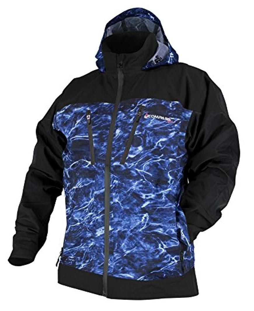 インタネットを見る句読点レンズコンパス360 d300 Rain Jacket in Mossy Oak要素Agua