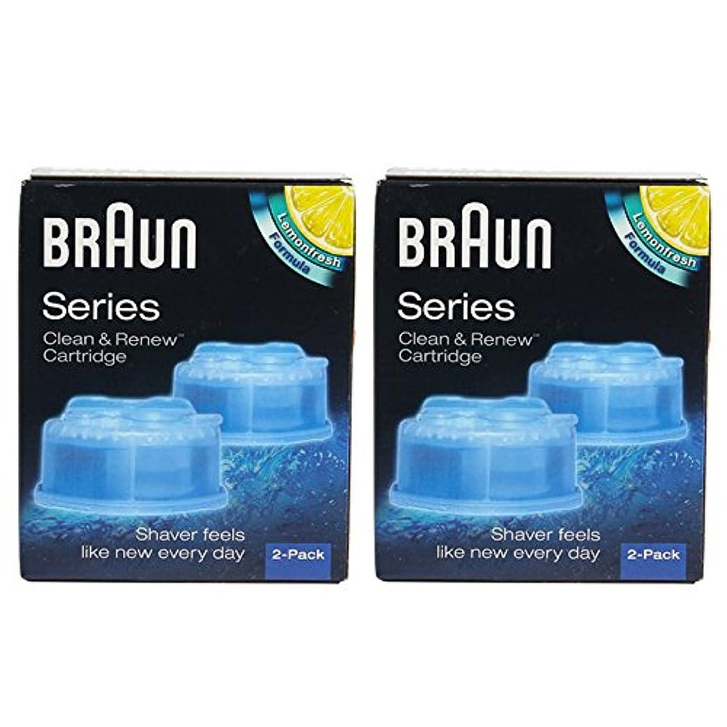 ミルク褐色膿瘍Braun CCR4 クリーナー詰め替えキット/クリーン$は、CCR 4パックを更新 [並行輸入品]
