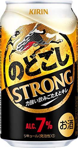【2019年リニューアル】新・キリン のどごし Strong(ストロング) [ ビール 350ml×24本 ]