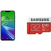 ASUS Zenfone Max M2 Space Blue (4 GB/64 GB) + Samsung SD Card