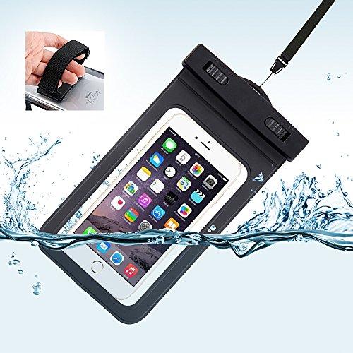 防水ケース 携帯防水カバー 透明パック iPhone SE/...