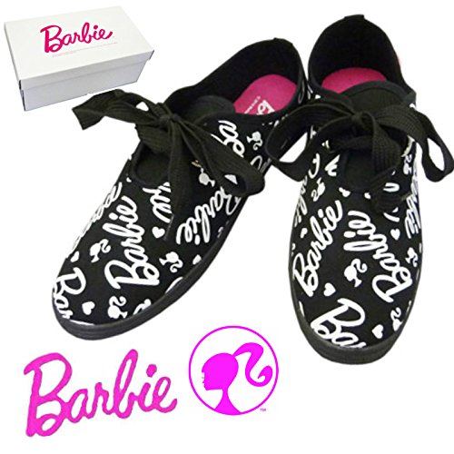 Barbie バービー ビッグリボン スニーカー  【ブラッ...